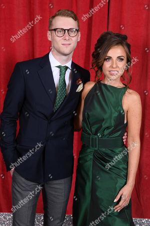 Jamie Borthwick and Louisa Lytton