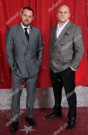 Stock Photo of Danny Dyer and Ricky Champ