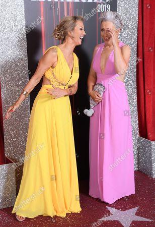 Gillian Taylforth and Sarah Moyle