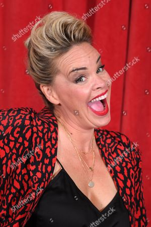 Editorial photo of The British Soap Awards, Arrivals, The Lowry, Manchester, UK - 01 Jun 2019