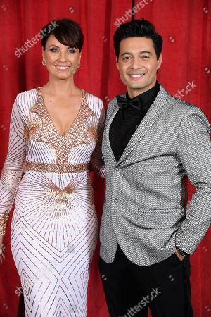 Stock Picture of Emma Barton and Stephen Rahman-Hughes