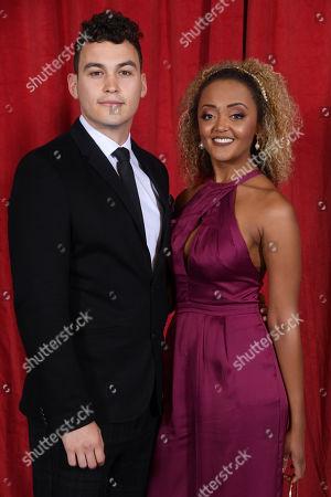 Joe Parker and Alexandra Mardell