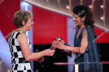 Gillian Wright - Best Female Dramatic Performance - EastEnders, presented by Maya Sondhi