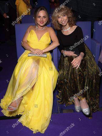 Tina O'Brien and Helen Worth
