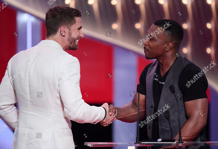 Adam Woodward - Best Male Dramatic Performance - Hollyoaks, presented by Ashley Walters
