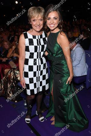 Gillian Wright and Louisa Lytton
