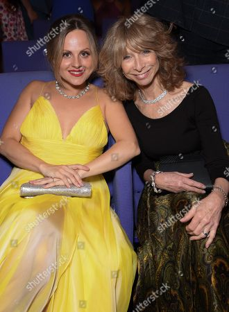 Stock Picture of Tina O'Brien and Helen Worth