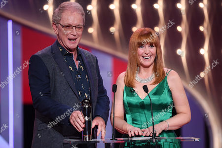 Mark Curry and Yvette Fielding