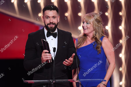 Shayne Ward and Sally-Ann Matthews - Best Storyline - The Impact of Aidan's Suicide - Coronation Street
