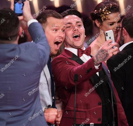 Adam Rickitt and Ray Quinn - Best British Soap - Hollyoaks