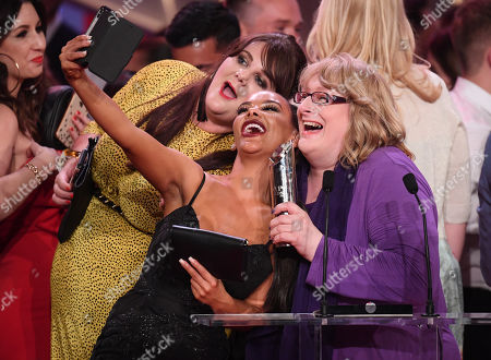 Chelsee Healey and Annie Wallace - Best British Soap - Hollyoaks