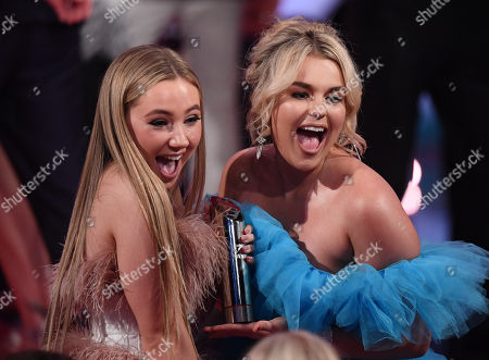 Ruby O'Donnell amnd Tallia Storm - Best British Soap - Hollyoaks