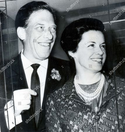 Smiles From The Earl Of Harewood And His Bride Miss Patricia 'bambi' Tuckwell As They Arrived At Heathrow Airport London Just Before Midnight From New York. The Couple Who Were Married In Connecticut On Monday Declined To Speak To Reporters About Their Honeymoon Plans. Of His Future Lord Harewood 44 Said: 'we Just Want To Be Happy.' Then He And His 38 Year Old Bride Drove To Their Home In St John's Wood.