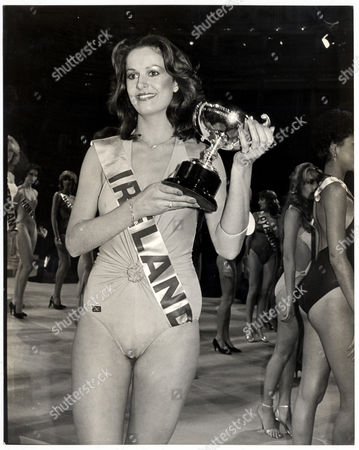 Michelle Rocca Former Miss Ireland 1980 Is Pictured At The Miss World Pageant 1980 (now Mrs Michelle Devine).