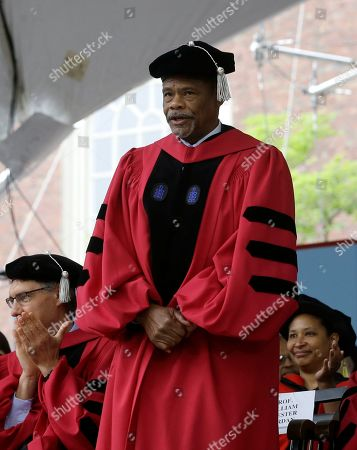 Huda Zoghbi,James Earl Jones,Mark Zuckerberg. Medieval historian William Chester Jordan presented with an honorary Doctor of Laws degree during Harvard University commencement exercises, on the schools campus, in Cambridge, Mass