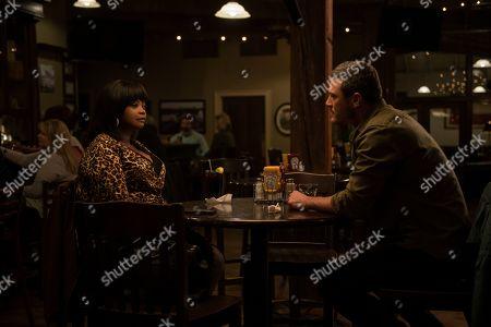 Octavia Spencer as Sue Ann and Luke Evans as Ben
