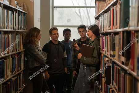 McKaley Miller as Haley, Gianni Paolo as Chaz, Dante Brown as Darrell, Corey Fogelmanis as Andy and Diana Silvers as Maggie