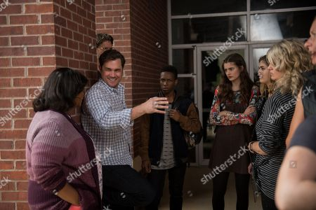 Octavia Spencer as Sue Ann, Tate Taylor Director, Dante Brown as Darrell, Diana Silvers as Maggie and McKaley Miller as Haley