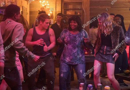Dante Brown as Darrell, Gianni Paolo as Chaz, Octavia Spencer as Sue Ann and McKaley Miller as Haley