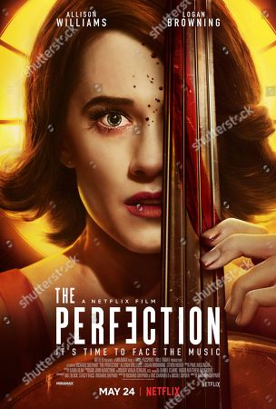The Perfection (2018) Poster Art. Allison Williams as Charlotte