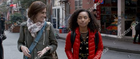 Allison Williams as Charlotte and Logan Browning as Lizzie