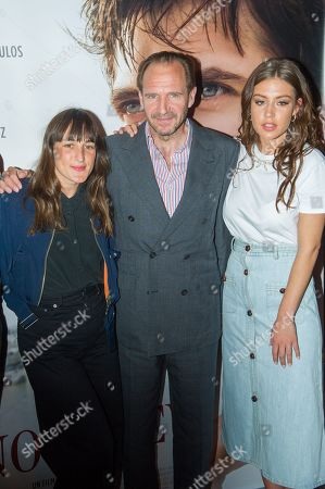 Stock Photo of Juliette Armanet, Ralph Fiennes, Adele Exarchopoulos