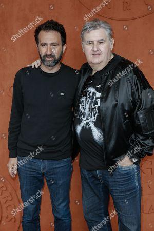 Mathieu Madenian and Pierre Menes
