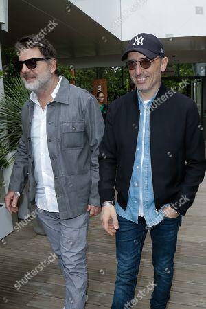 Philippe Lellouche and Gad Elmaleh