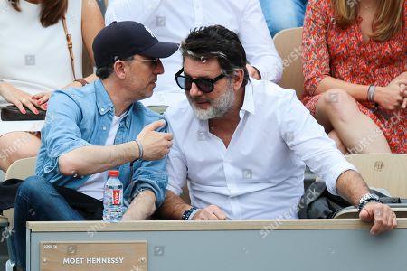 Gad Elmaleh and Philippe Lellouche