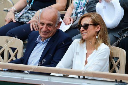 Jean-Michel Aphatie and Anne Gravoin