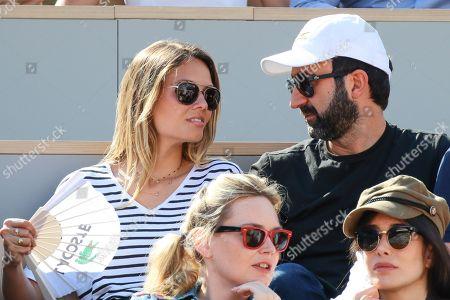 Mathieu Madenian and his girlfriend