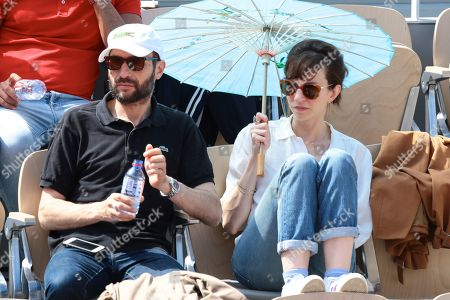 Emilie Caen and her boyfriend