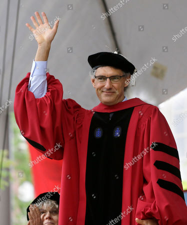 Emmanuel Saez, Huda Zoghbi, James Earl Jones, Mark Zuckerberg. Emmanuel Saez, professor of economics at the University of California, Berkeley, waves to the audience as he is presented with an honorary Doctor of Laws degree during Harvard University commencement exercises, on the school's campus, in Cambridge, Mass