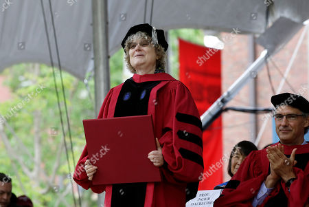 Huda Zoghbi,James Earl Jones,Mark Zuckerberg. Mathematician Ingrid Daubechies is presented with an honorary Doctor of Science degree during Harvard University commencement exercises, on the schools campus, in Cambridge, Mass