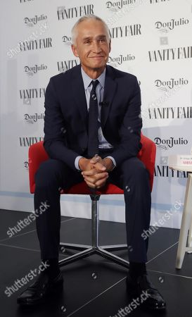 Mexican journalist Jorge Ramos smiles during the event in which he was awarded the International Journalist Award 2019 Vanity Fair in Madrid, Spain, 30 May 2019.