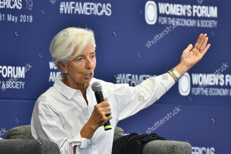 Womens Forum Americas Day 1 Mexico City Stock Photos