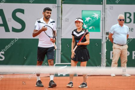 Editorial photo of French Open Tennis Championships, Day 5, Roland Garros, Paris, France - 30 May 2019