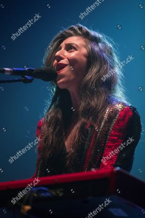 US singer and song writer Julia Holter performs on stage during his concert in the framework of the second day of the Primavera Sound music festival in Barcelona, Catalonia, north eastern Spain, 31 May 2019, an event running from 30 May until 01 June.