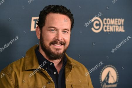 """Cole Hauser, a cast member in the Paramount Network television series """"Yellowstone"""" poses at the Paramount Network, Comedy Central, TV Land Press Day 2019 at the London West Hollywood, in West Hollywood, Calif"""