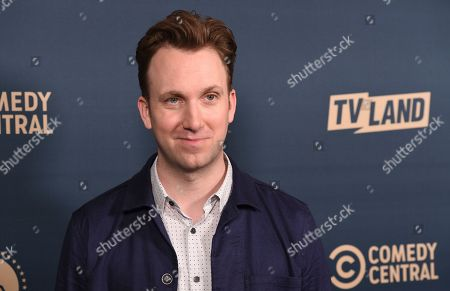 "Stock Picture of Jordan Klepper, star of the Comedy Central series ""Klepper,"" poses at the Paramount Network, Comedy Central, TV Land Press Day 2019 at the London West Hollywood, in West Hollywood, Calif"