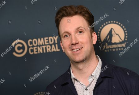 "Jordan Klepper, star of the Comedy Central series ""Klepper,"" poses at the Paramount Network, Comedy Central, TV Land Press Day 2019 at the London West Hollywood, in West Hollywood, Calif"
