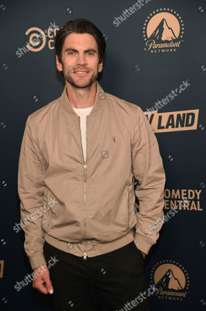 "Wes Bentley, a cast member in the Paramount Network television series ""Yellowstone,"" poses at the Paramount Network, Comedy Central, TV Land Press Day 2019 at the London West Hollywood, in West Hollywood, Calif"