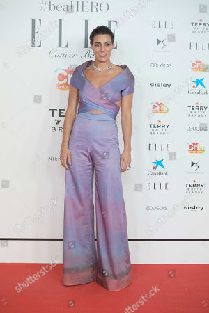 Editorial image of ELLE solidarity gala dinner for CRIS Foundation against Cancer, Madrid, Spain - 30 May 2019