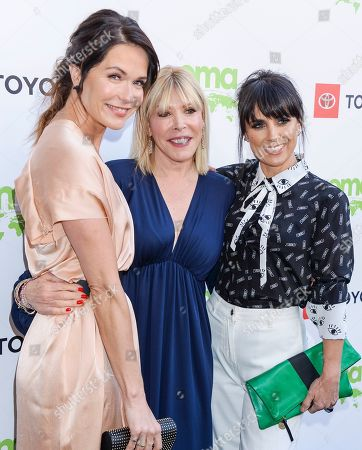 Katie Aselton and Constance Zimmer