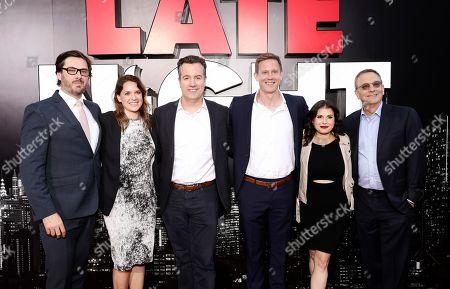 Stock Picture of Ben Browning, Julie Rapaport, Greg Hart, Matt Newman, Jillian Apfelbaum and Howard Klein