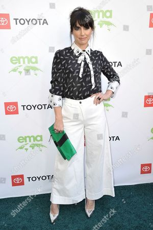 Constance Zimmer attends the 2019 Environmental Media Awards at the Montage Hotel, in Beverly Hills, Calif