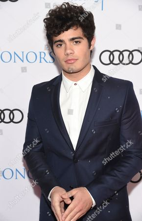 Emery Kelly arrives at the 12th Annual Television Academy Honors, at the Beverly Wilshire Hotel in Los Angeles