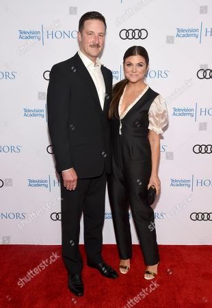 Stock Image of Brady Smith, Tiffani Thiessen. Brady Smith, left, and Tiffani Thiessen arrive at the 12th Annual Television Academy Honors, at the Beverly Wilshire Hotel in Los Angeles