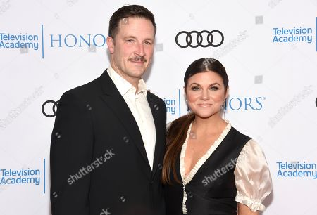 Brady Smith, Tiffani Thiessen. Brady Smith, left, and Tiffani Thiessen arrive at the 12th Annual Television Academy Honors, at the Beverly Wilshire Hotel in Los Angeles