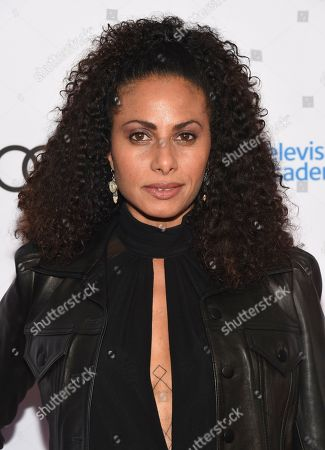 Christina Moses arrives at the 12th Annual Television Academy Honors, at the Beverly Wilshire Hotel in Los Angeles